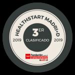 Sello 3er clasificado Healthstart 2019